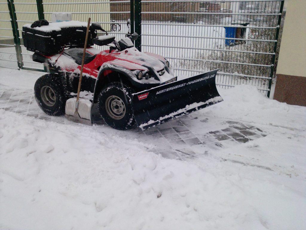 Winterdienst steuerlich absetzen - Haushaltsnahe Dienstleistungen